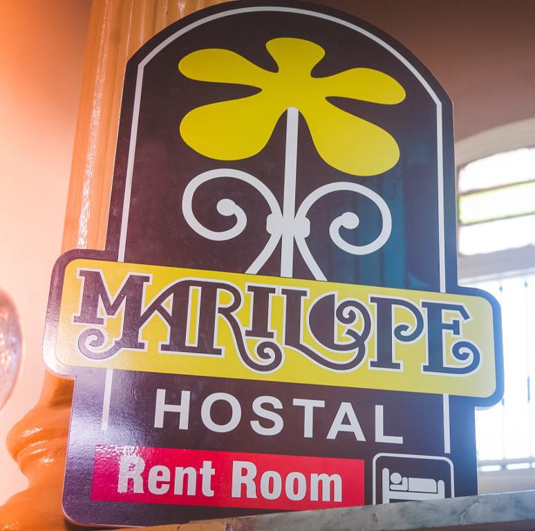 Cartel de Marilope Hostal