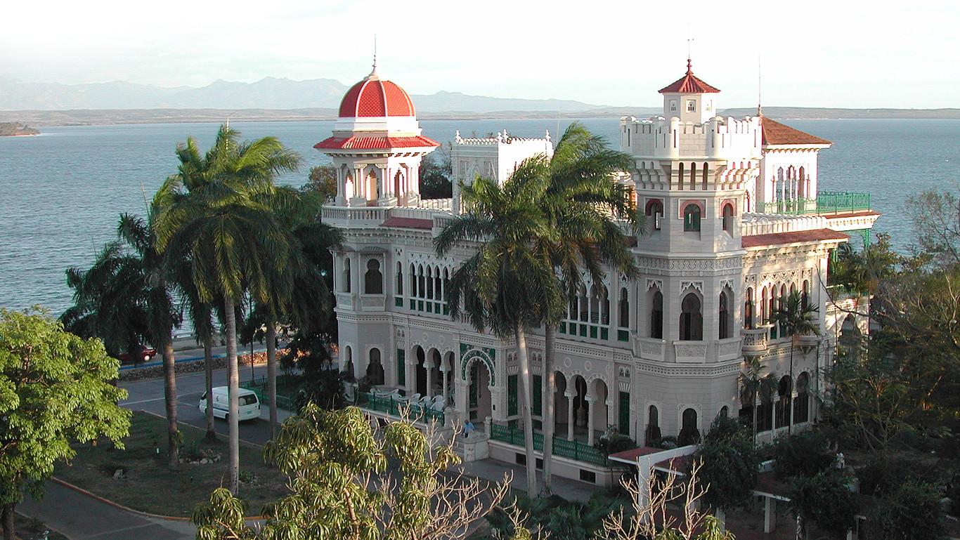 Palacio de Valle en Punta Gorda, Cienfuegos, a 3.4km de Marilope Hostal